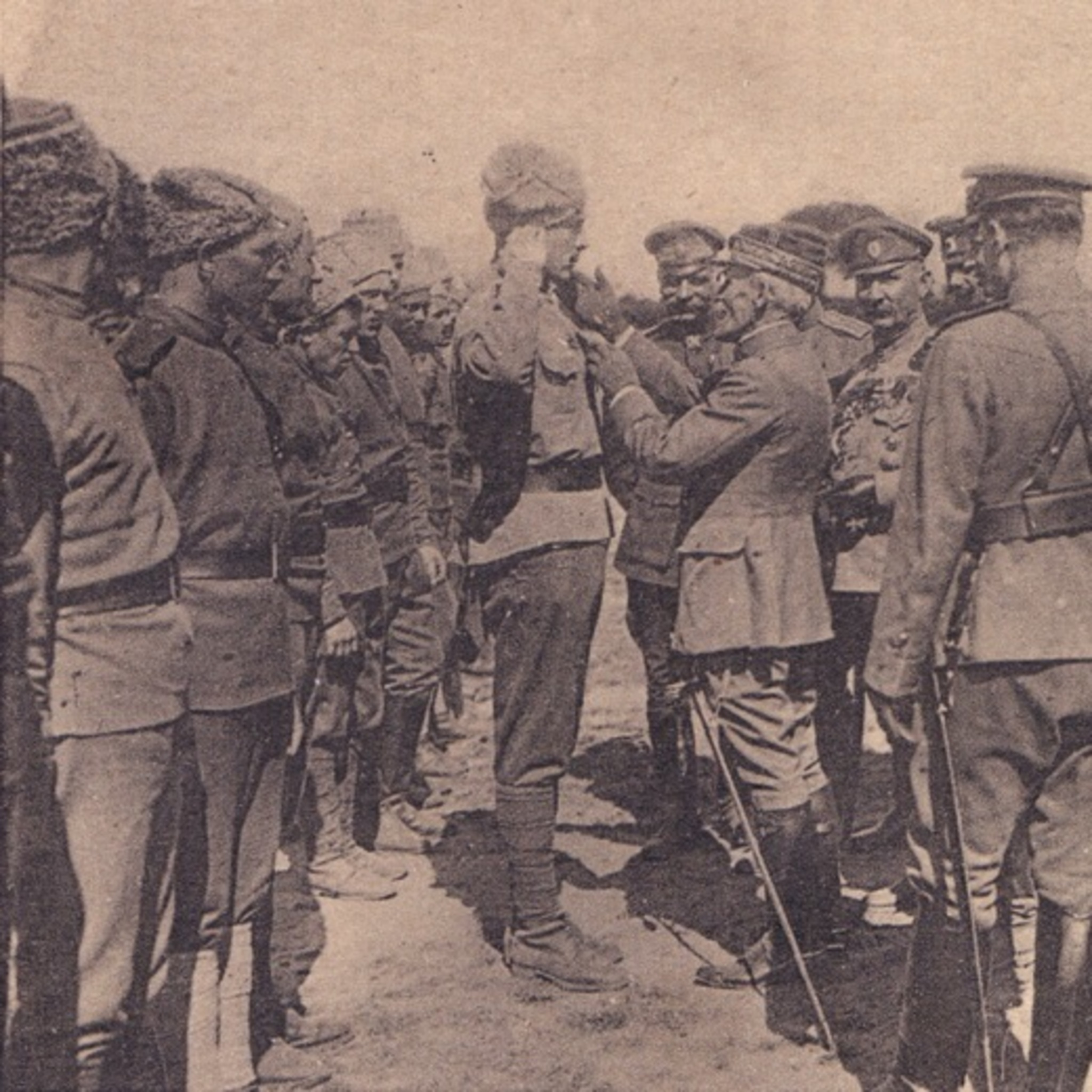 The exhibition Through the seas and oceans in France / Russian Special Brigade 1916 – 1918