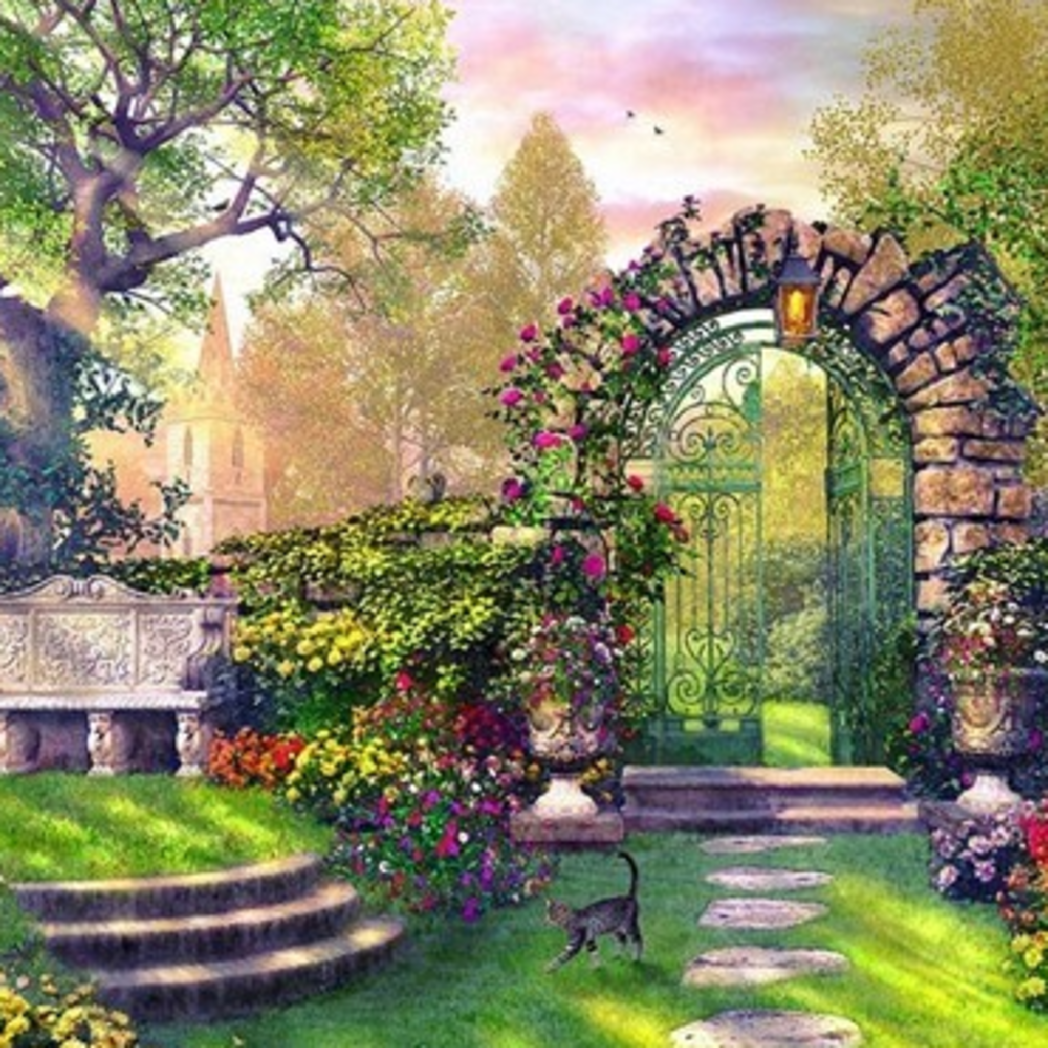 Exhibition of works of authorship Svetlana Mikhailova My wonderful garden