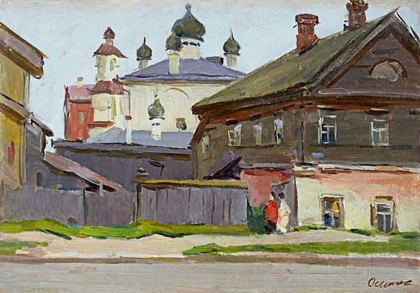 Sergey Osipov (1915 – 1985). Painting