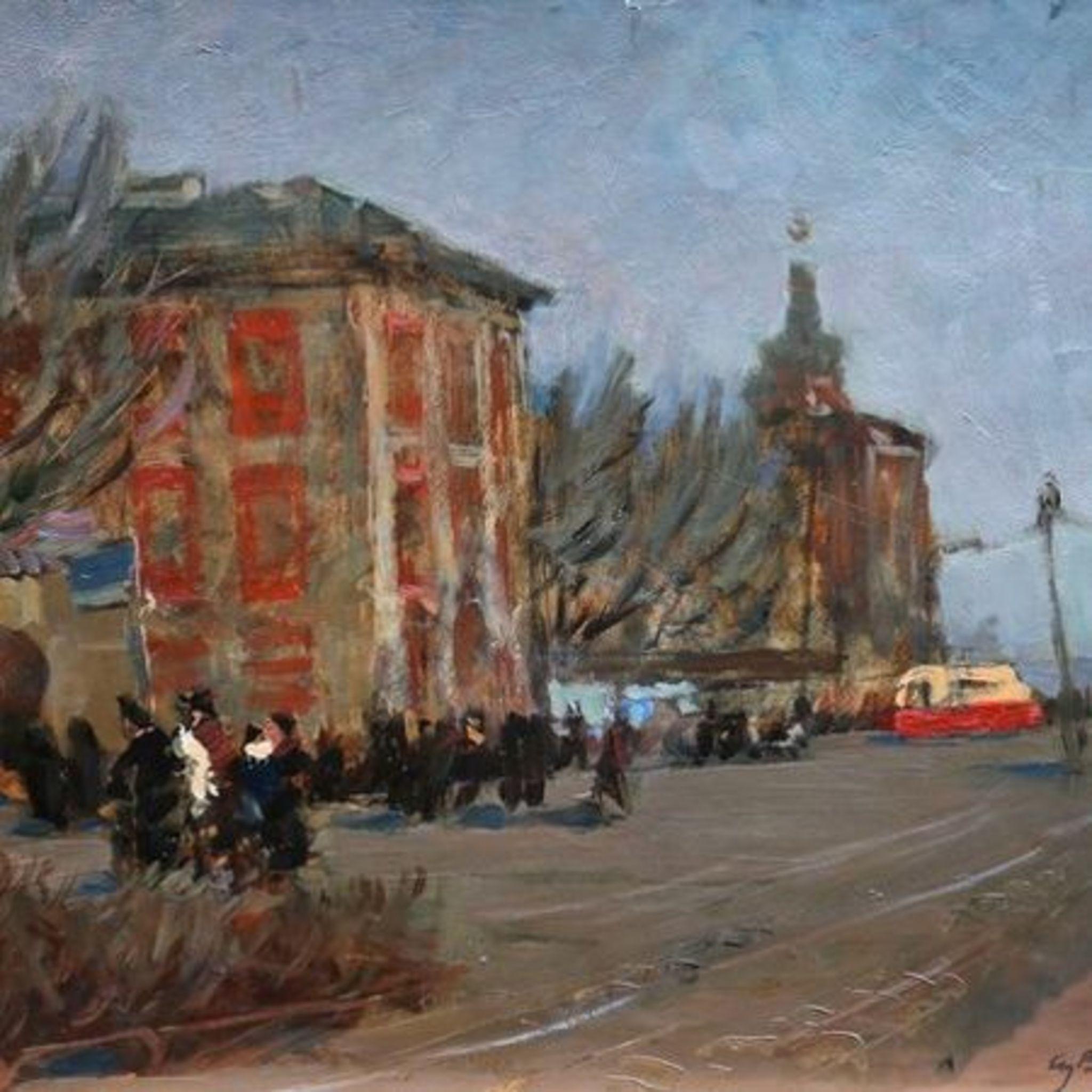 Anatoly Vasilyev Exhibition Petersburg artist