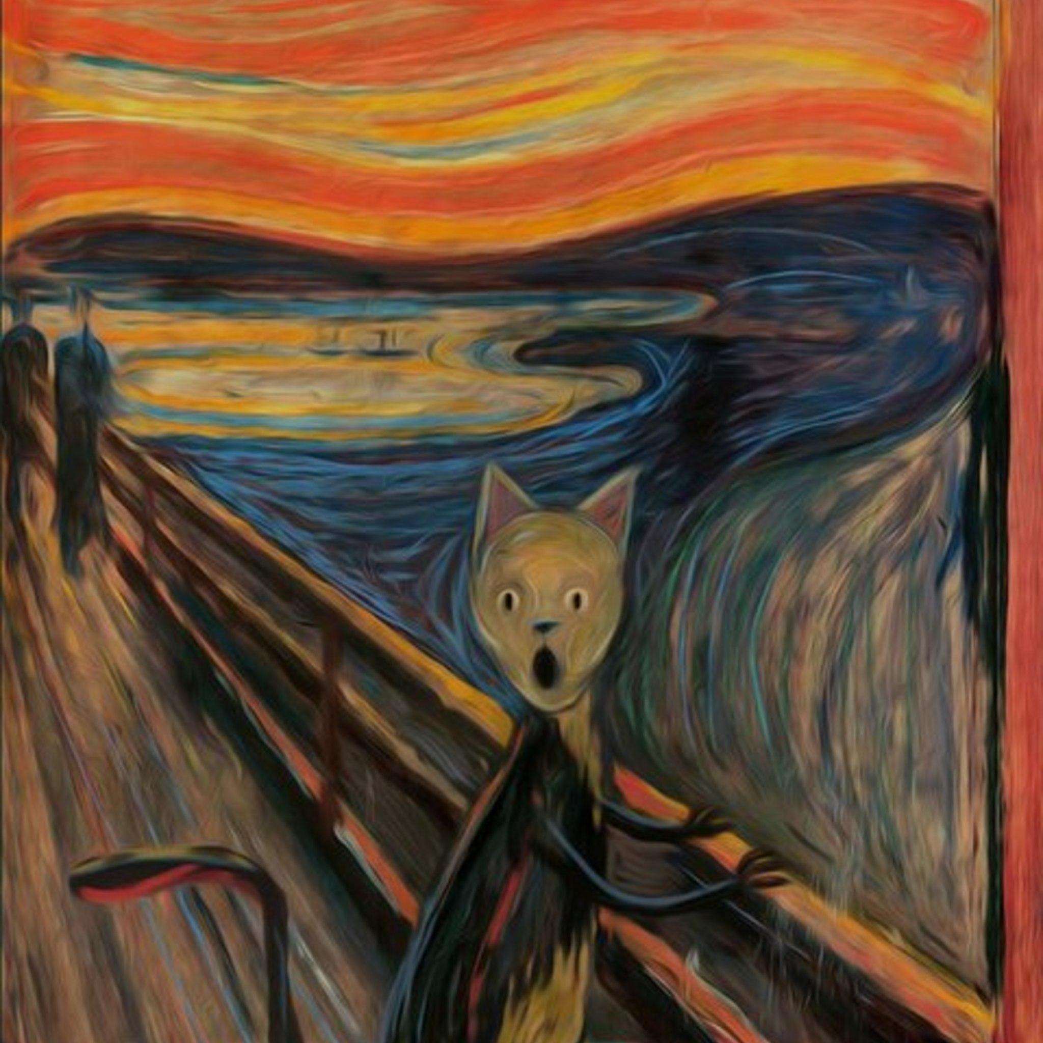 Выставка Андрея Сикорского «Коты известных художников»