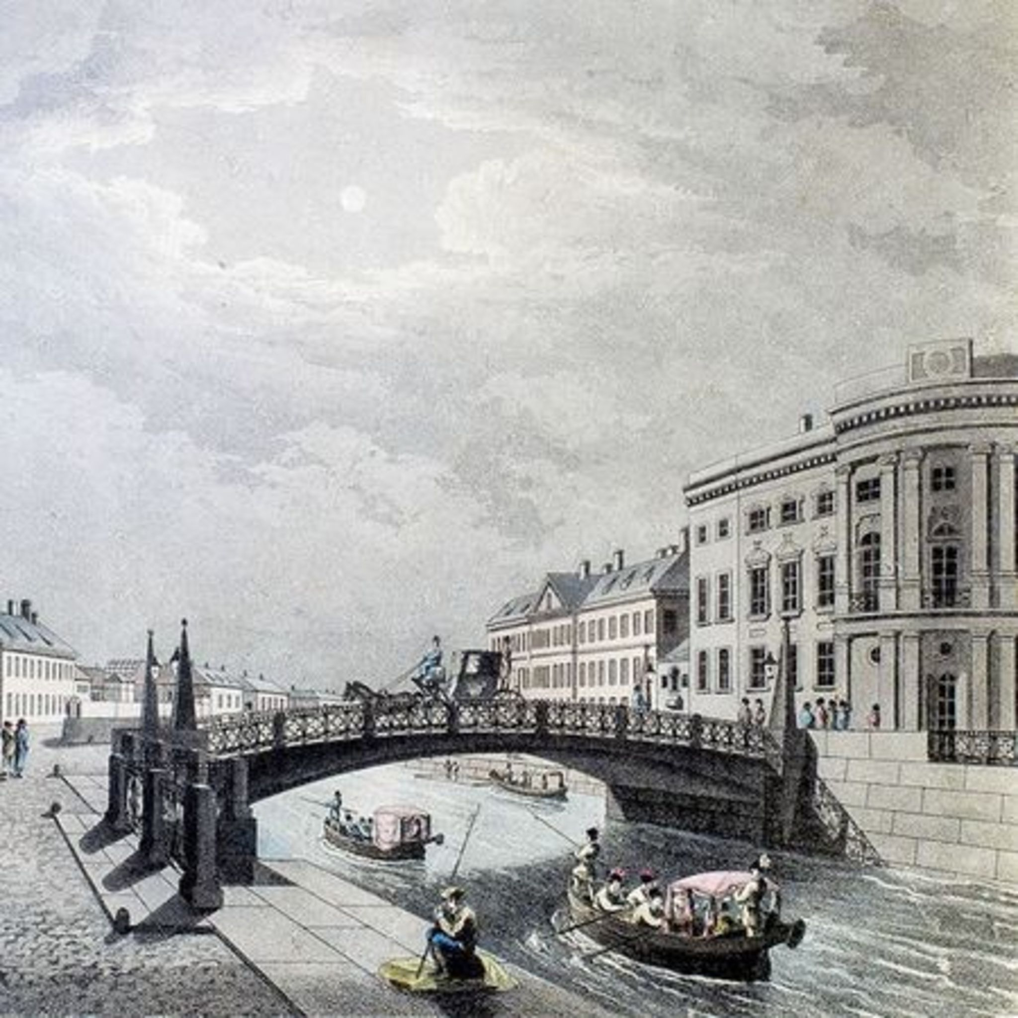 Lecture Let's go along the Moika …. Historical events on the banks and AS Pushkin