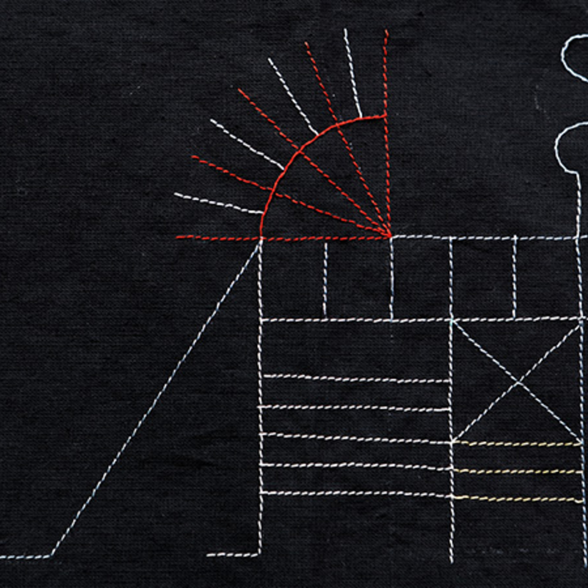 Выставка Аси Маракулиной «Потайные швы»