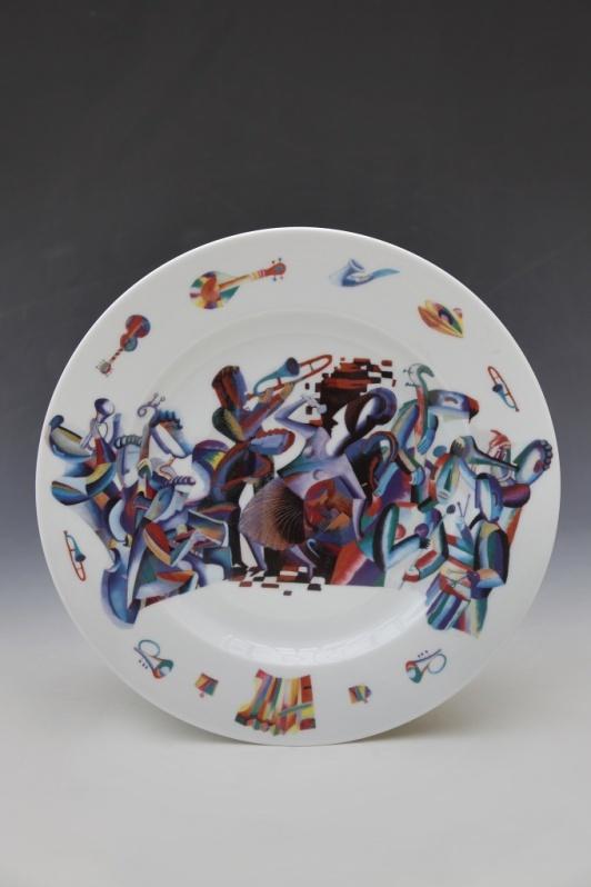 Porcelain witness