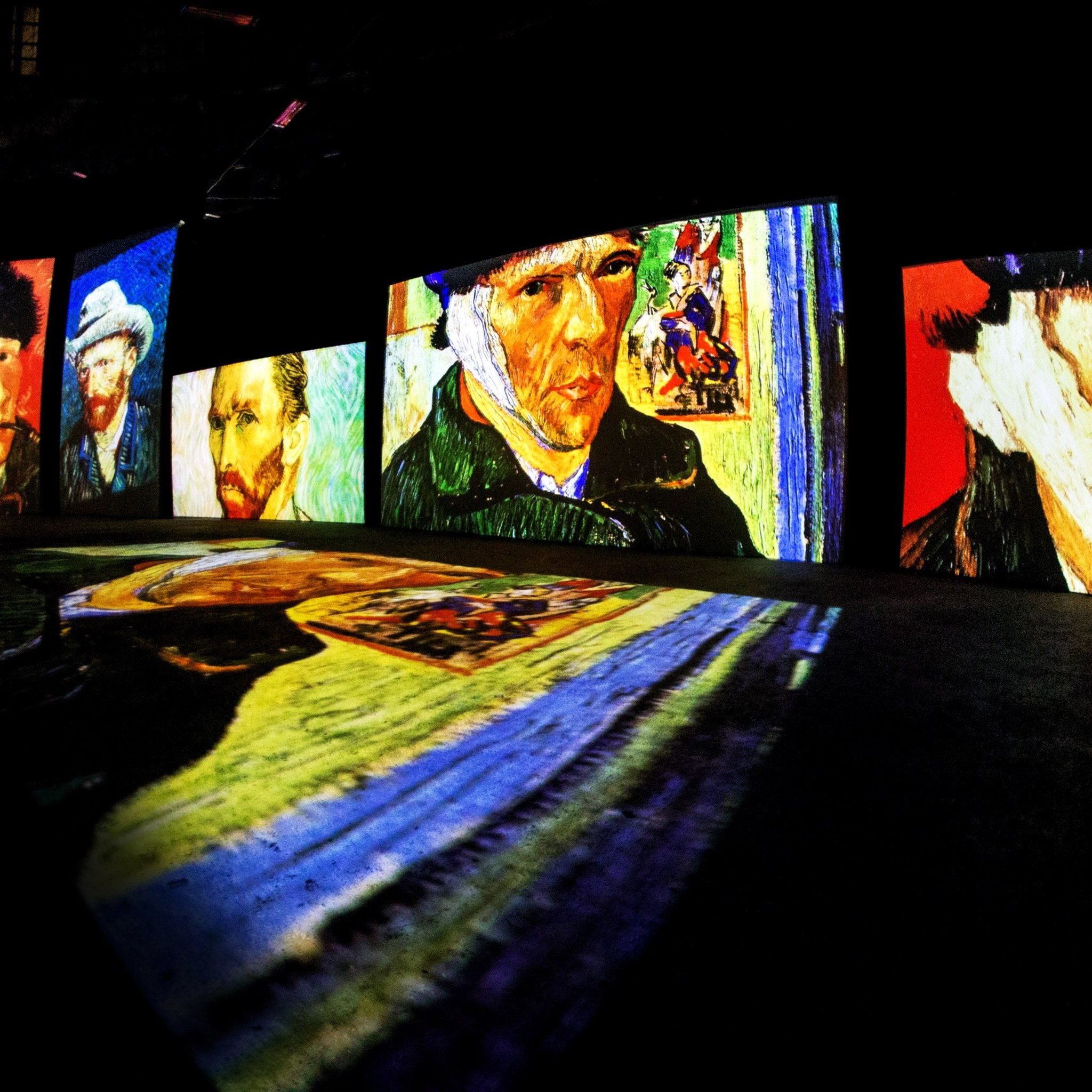 The exhibition Van Gogh – Live web