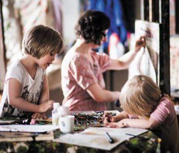 "Polina Zaslavskaya's exhibition ""Be careful, children!"""