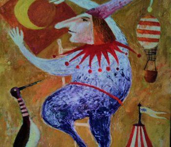 Igor Klushkin's exhibition «Flowers and Clowns»