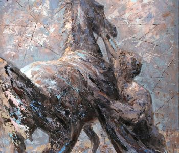 """Exhibition of painting """"Experiment and Tradition in the Work of Dmitry Kustanovich"""""""