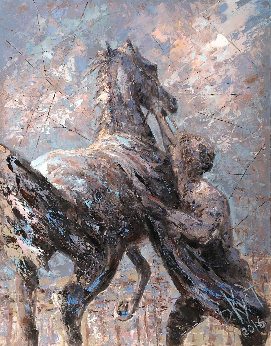 Выставка живописи «Эксперимент и традиция в творчестве Дмитрия Кустановича»