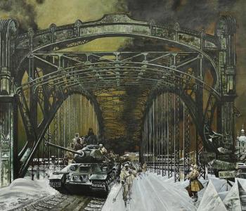 Solo exhibition of Andrey Bliok