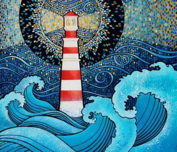 Выставка живописи Олеси Дубовик «Бесконечные точки»