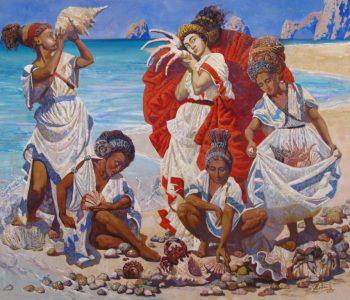 Выставка живописи Татьяны Стрежбецкой «Женский взгляд – цвет радости»