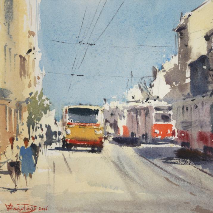 "Exhibition of Vladimir Zarutsky ""Chronic Petersburg"""
