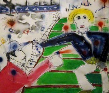 Выставка живописи Кости Митенева «Опа! Сны е-е волны… 0-цвет 0-colore»