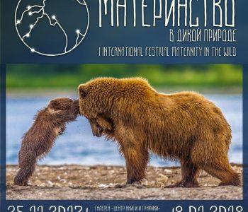 I Международный фотофестиваль «Материнство в дикой природе»