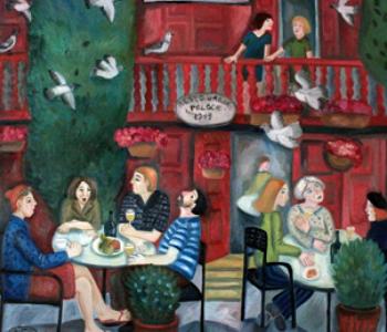 Выставка «Города и веси Елены Лихацкой»