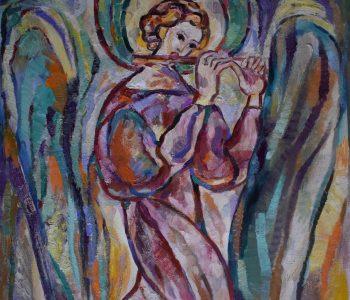 Выставка пастели Елены Крыловой «Музицирующие ангелы»