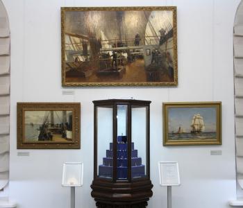 Выставка «Флот в миниатюре»