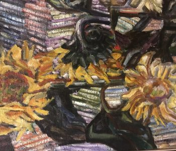 "Igor Ivanov's exhibition ""The Living Letter"""