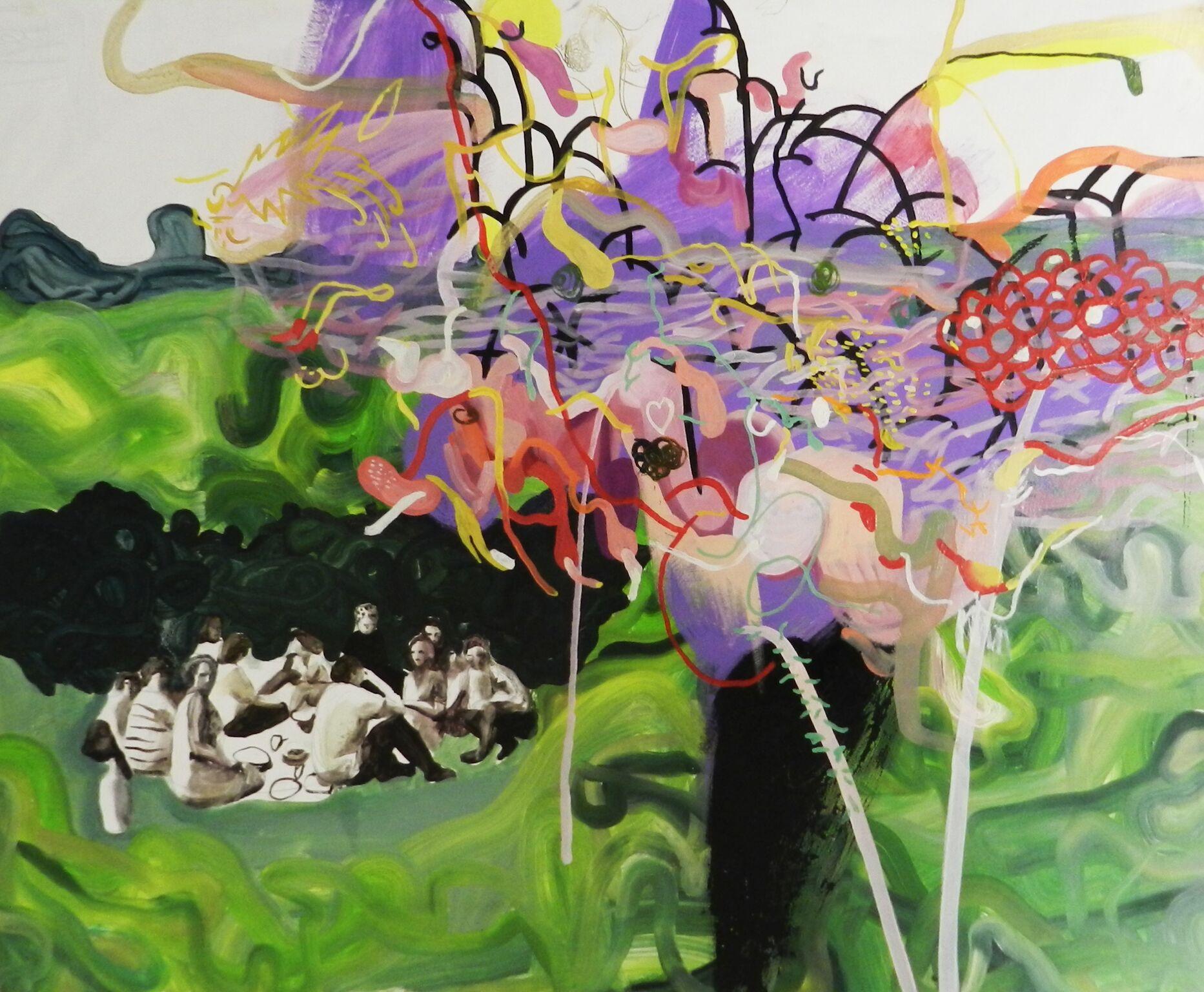"Exhibition of Ani Andrzhievskaya and Nadia Gorokhova ""Swan, paw, you"""