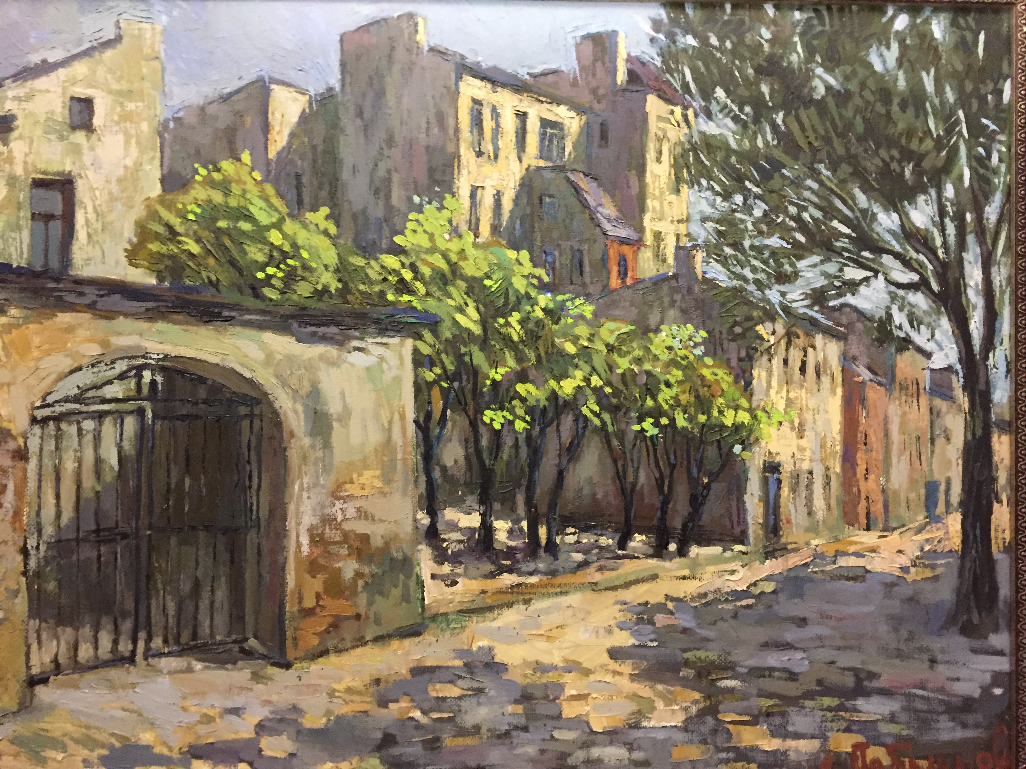 Exhibition of the artist Anatoly Lobyntsev «Walks in my city»