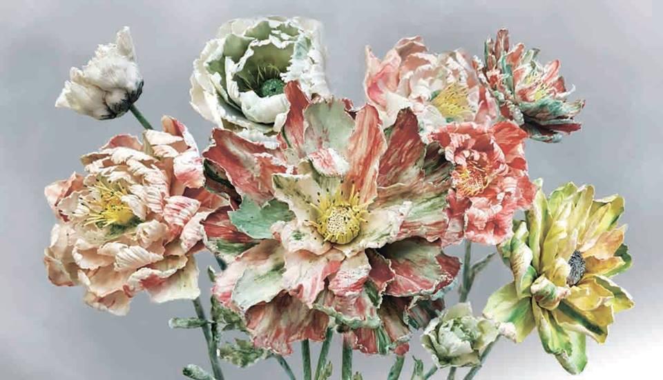 Выставка фарфора Анны Волковой «Хрупкое цветение»