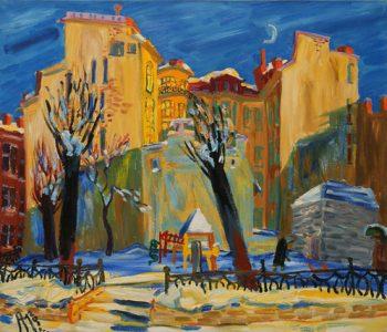 Выставка «Безнадежные живописцы. Ленинградско-петербургская живопись»