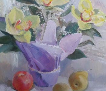 Выставка Владимира Прошкина «Цветы»