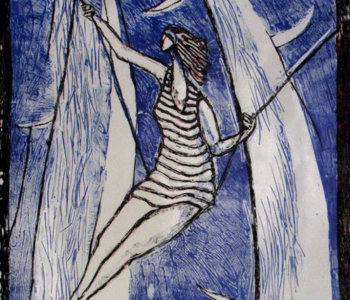 "Anna Sorokina's exhibition ""The Beginning of the Sky"""
