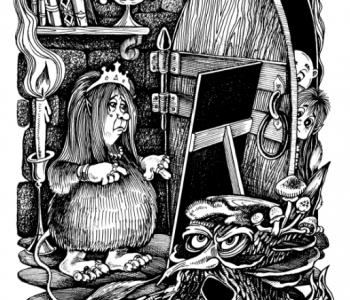 Выставка иллюстраций Ольги Анциферовой
