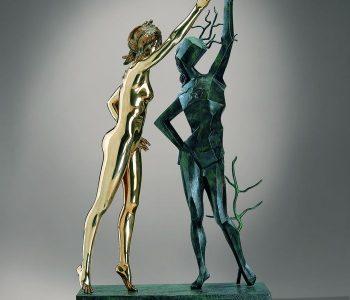 Скульптуры Сальвадора Дали в Эрарте