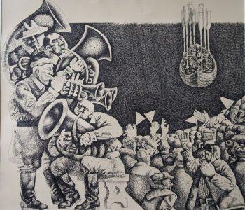 Выставка Федора Крушельницкого и Василия Крушельницкого «Эпоха серпа и молота»