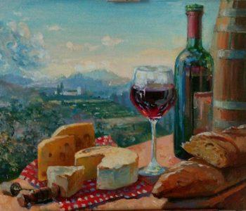 Выставка живописи и графики Евгении Кондратьевой «Однажды…»