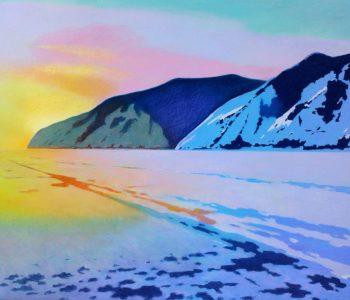 Выставка живописи Петра Гамаюнова «Россия и чарующий Байкал»