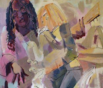 Выставка Виктора Борисова «Магия движения»