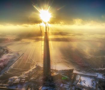 "Photo exhibition of Igor Pushnoy ""Up above the city"""
