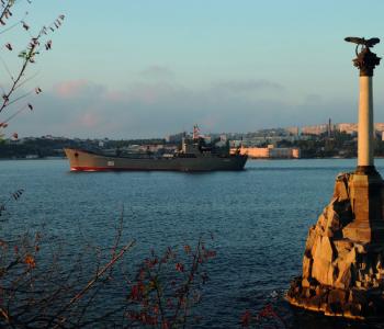 Выставка «Корабли российского флота в объективе Ивана Бородулина»