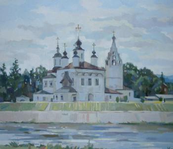 Выставка живописи Екатерины Константиновой «Путешествие в Великий Устюг»
