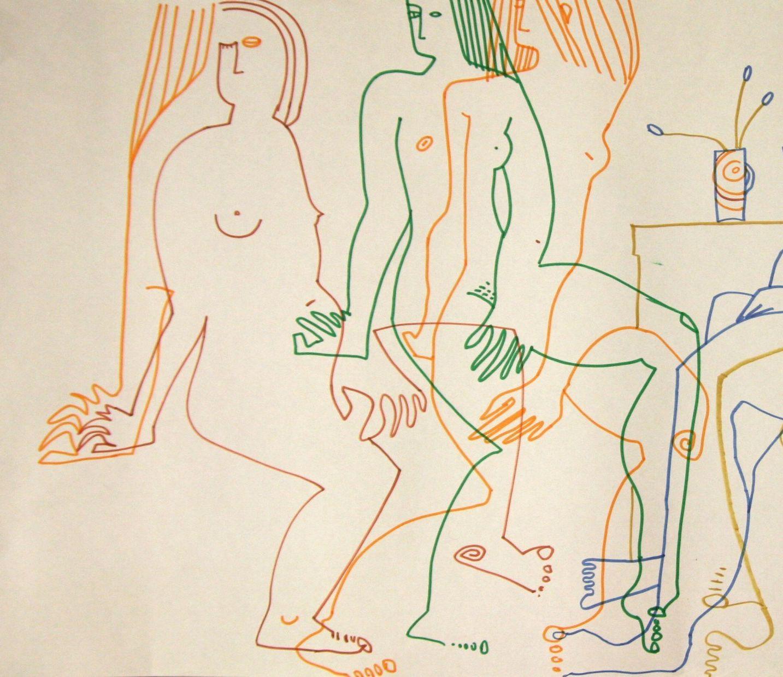 Выставка Анны Зельцман «Со всех сторон»