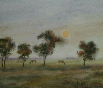 Выставка акварели Михаила Струтинского «От весны до осени»