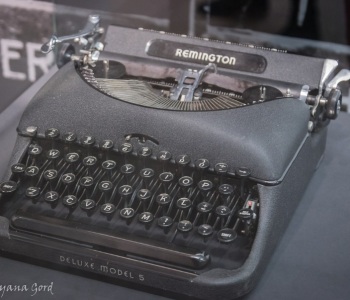"Exhibition ""Under the sounds of a typewriter …"""