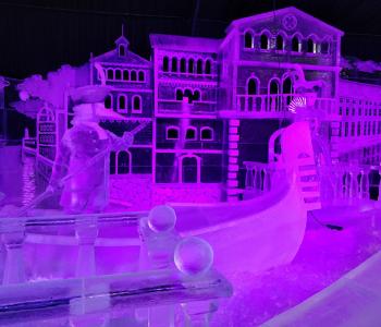 Фестиваль ледовых скульптур в Петропавловской крепости «ICE FANTASY – 2019»
