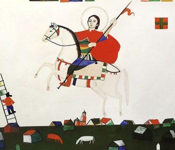 Арт-медиация по выставке Алексея Новикова «Живут же люди!»