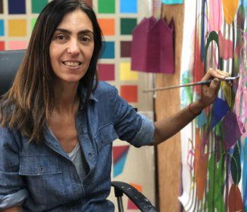 Artist talk аргентинской художницы Мария Санти о живописи как мысли