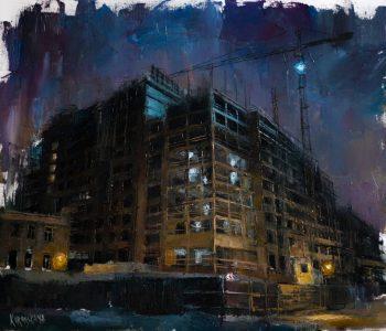 Выставка живописи Анастасии Коронской «URBAN»
