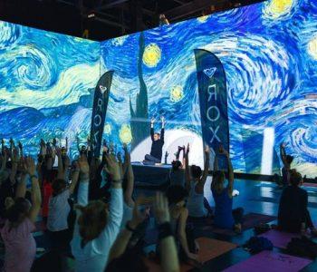 Йога под Ван Гога в Artplay Media