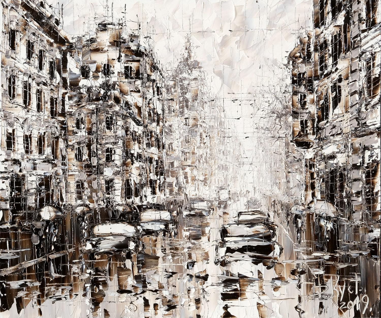 Санкт-Петербург. Золото листвы, серебро дождя