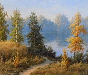 Выставка пейзажей Олега Бородина